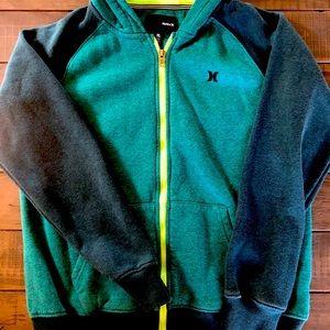 Hurley boys hoodie sweatshirt size 14/16.